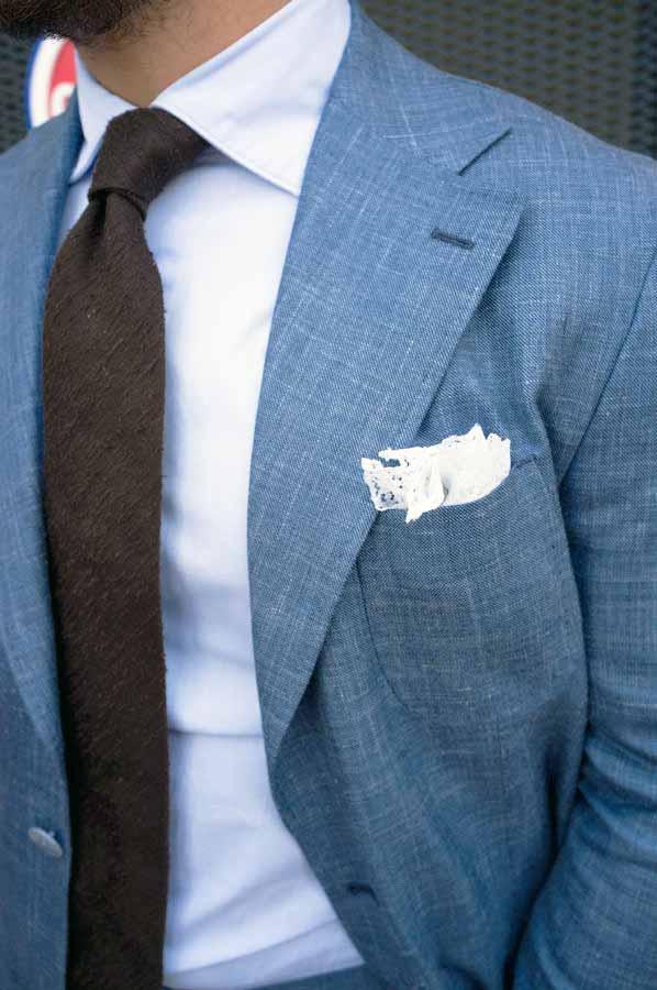 cravatta seta shantung