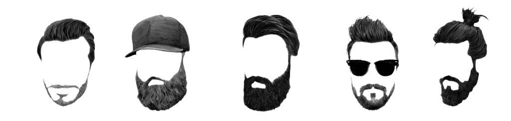 la barba - dettaglio di stile