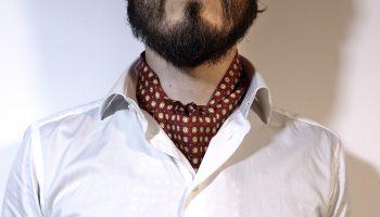 Cravatta ascot e camicia