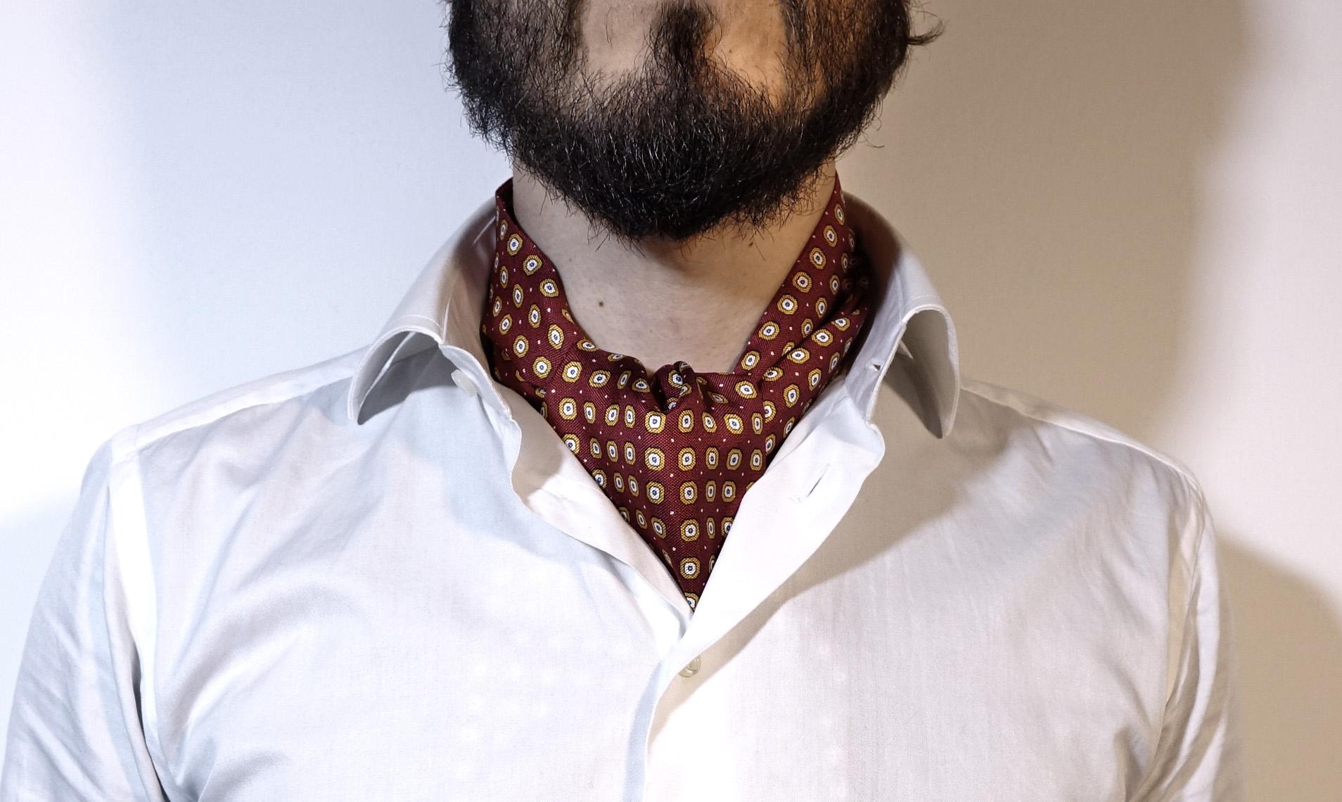 Foulard Uomo Matrimonio : Ascot uomo il gran ritorno del foulard da cravatte