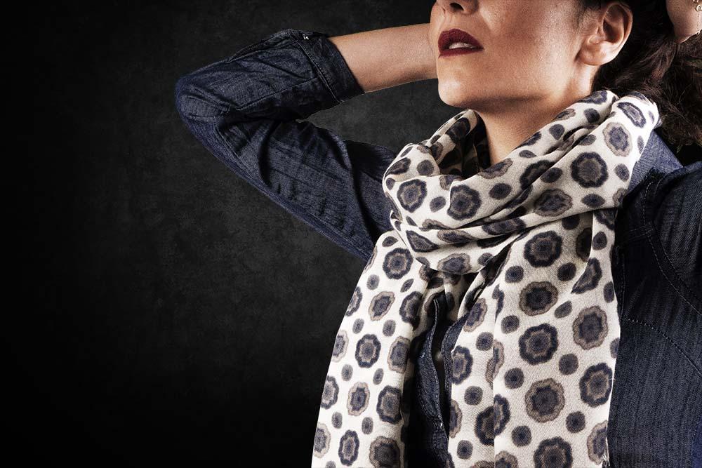 Sciarpe di lana da donna