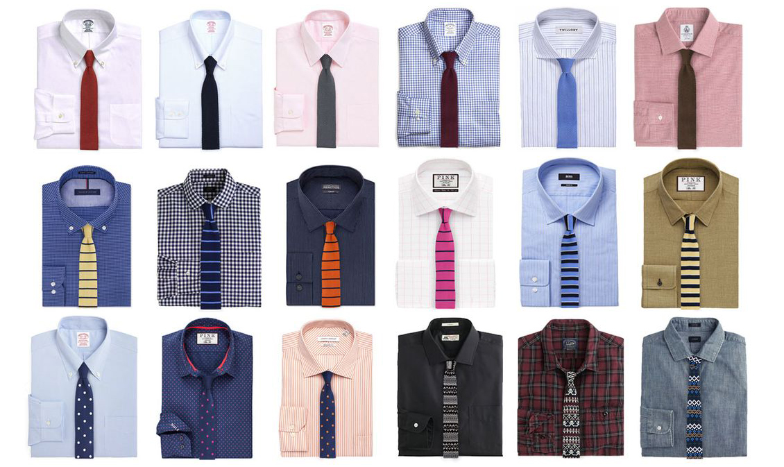 Sito ufficiale all'avanguardia dei tempi acquistare Come abbinare cravatta e camicia: guida rapida (nr. 1 ...