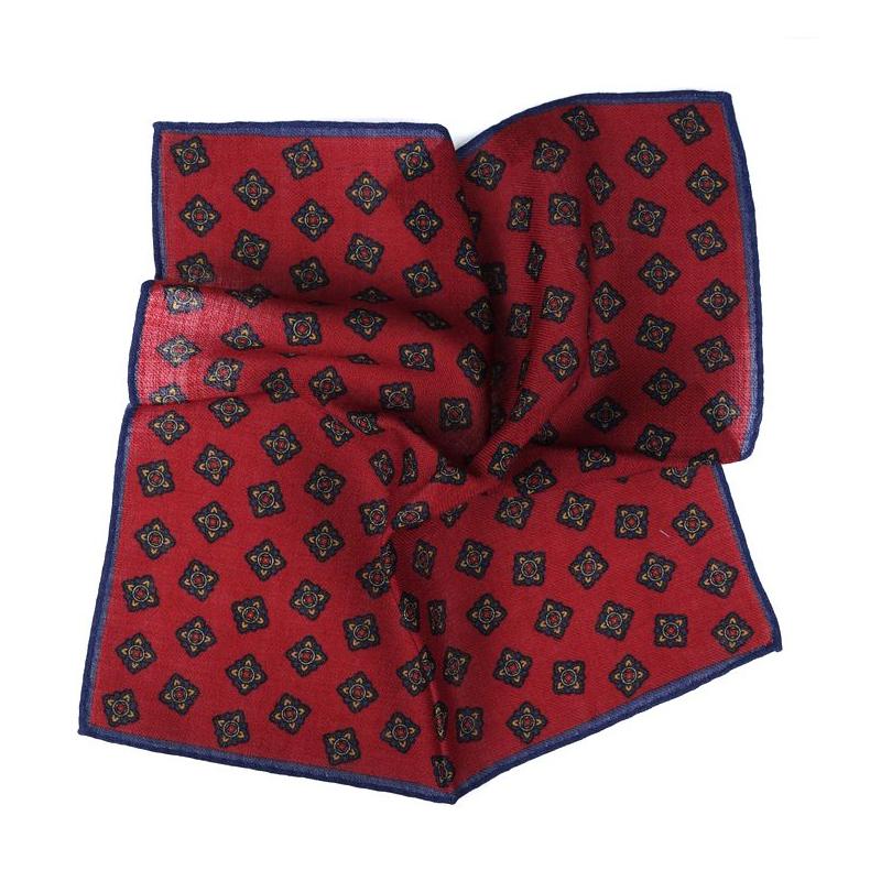 fazzoletto da taschino rosso