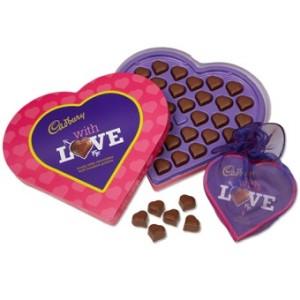 Richard Cadbury scatola cioccolatini a cuore
