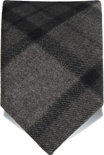 Cravatta fatta a mano in lana mano morbida