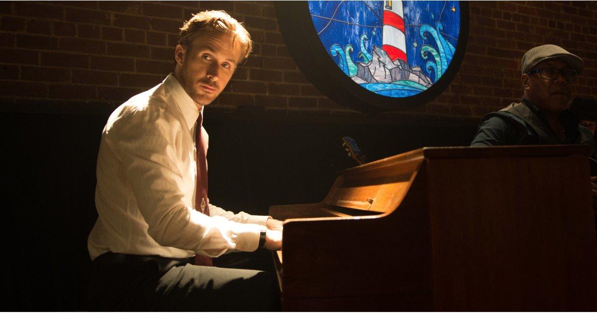 Ryan Gosling pianoforte