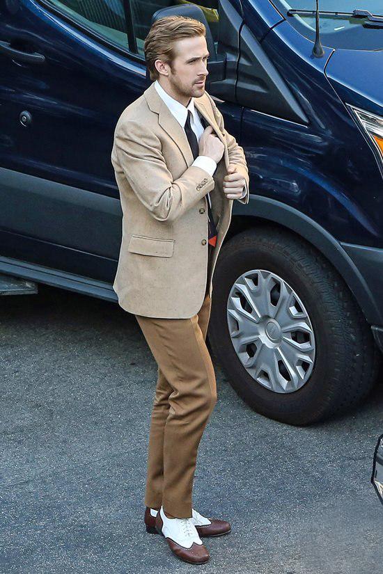 Ryan Gosling fuori dal set