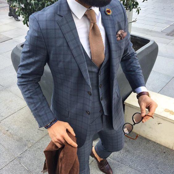 Cravatta in maglia tricot