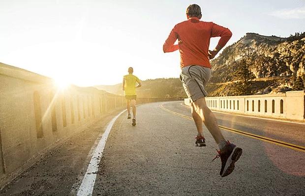 Jogging contro jet-lag