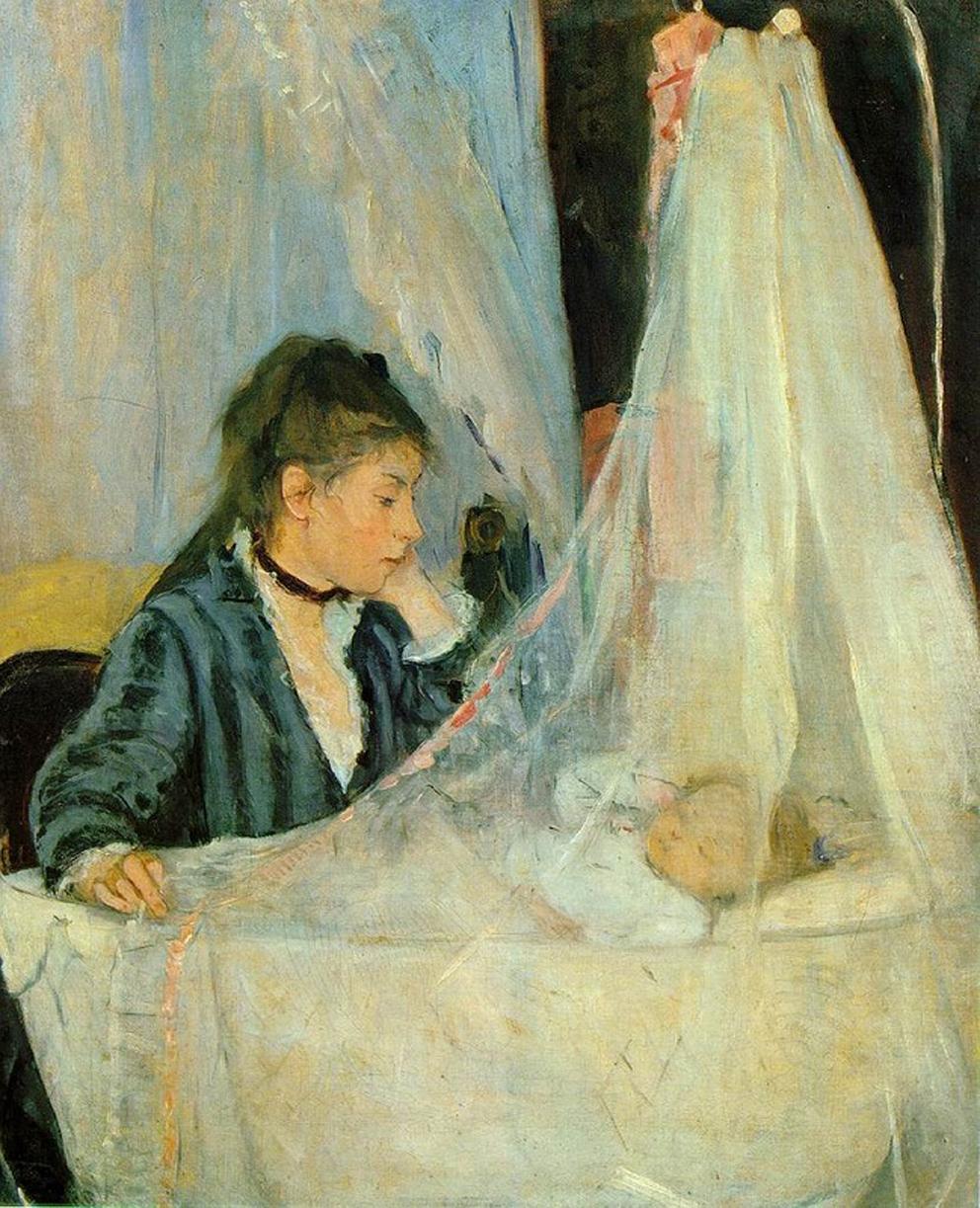 Berthe Morisot, La culla, 1872