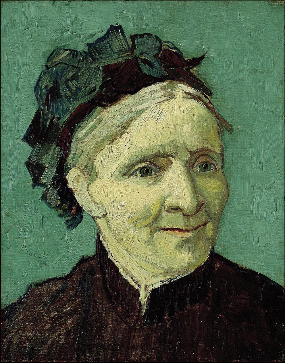 Vincent Van Gogh, ritratto della madre dell'artista, 1888