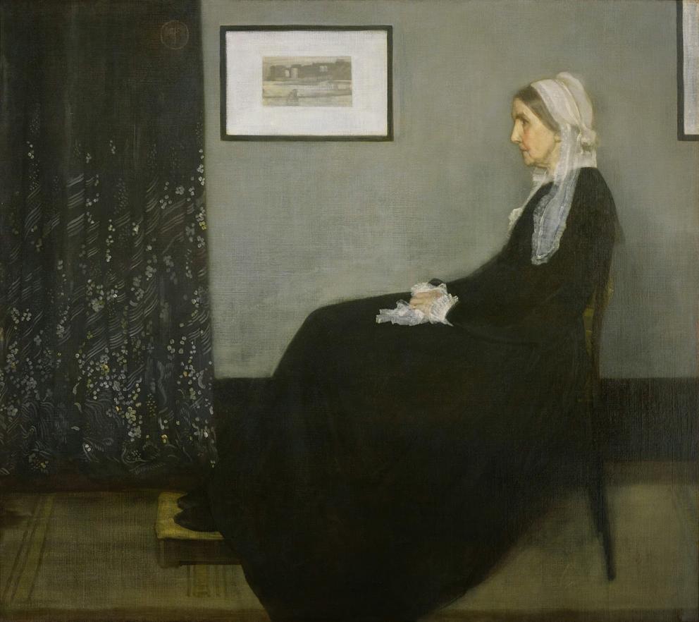 James Abbott McNeill Whistler, Combinazione in grigio e nero n°1, detto anche Ritratto della madre dell'artista, 1871