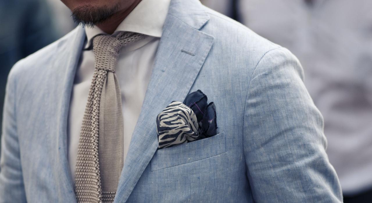 l'ultimo 074cd 5ee7d Fazzoletto da taschino: poche regole, tanto gusto - Cravatte ...