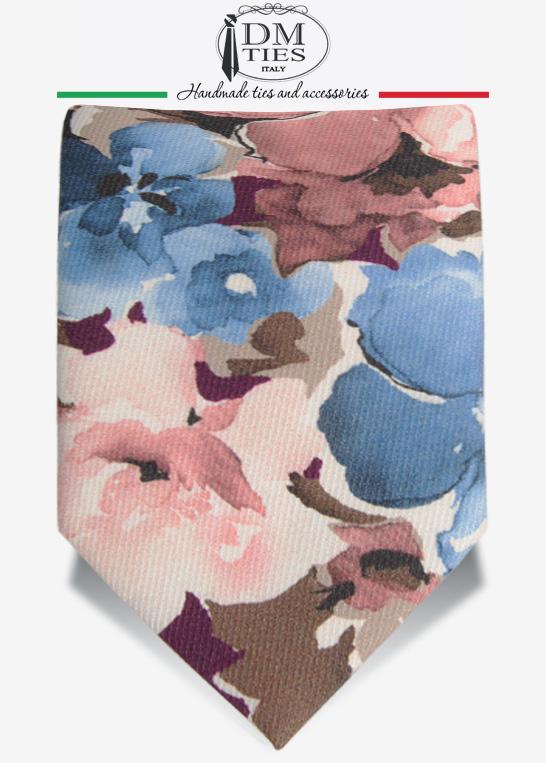 Cravatta floreale