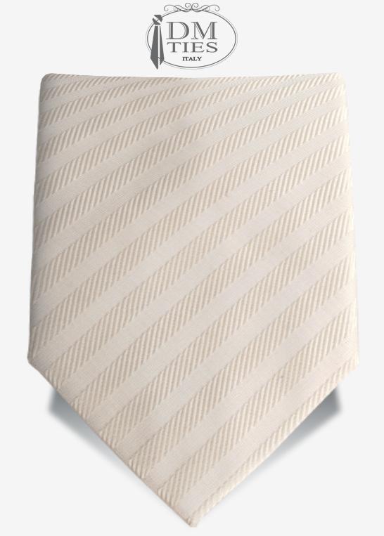 cravatta sposo avorio