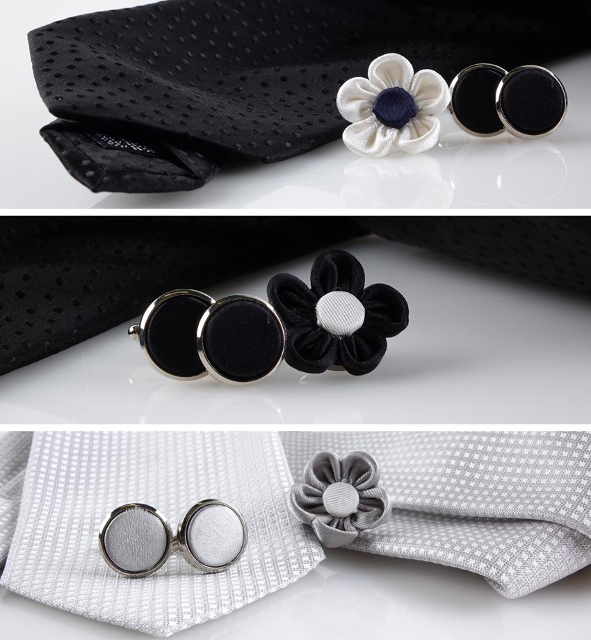 Spilla da giacca a fiore: è sbocciata la seta Cravatte
