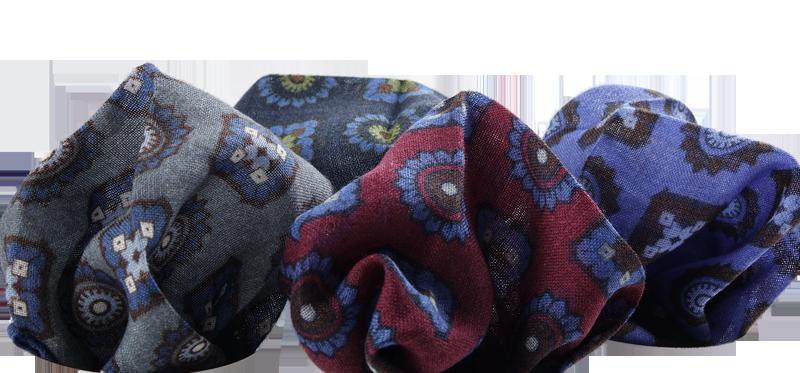 fazzoletti da taschino lana