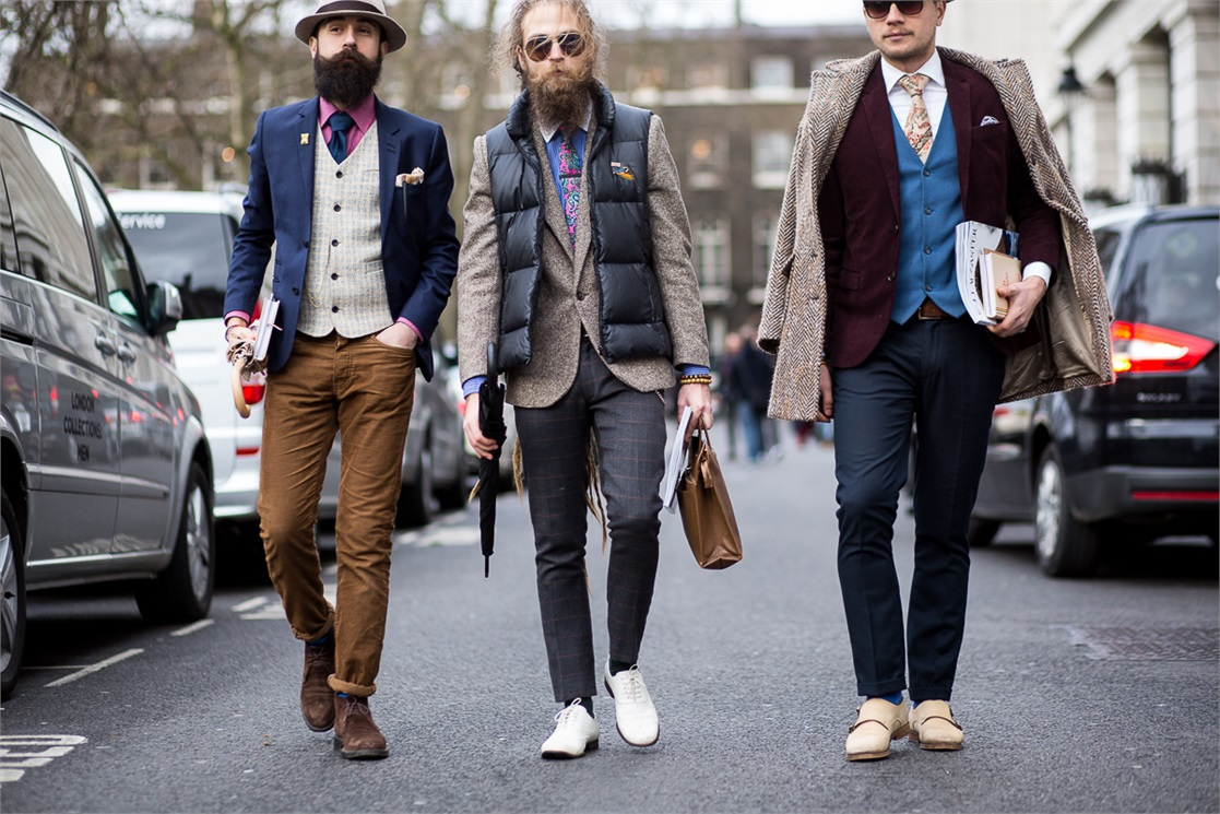 Tendenze moda uomo inverno 2017,2018 ritorno al passato