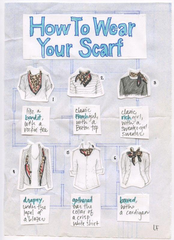 Modi di fare il nodo alla sciarpa per donna