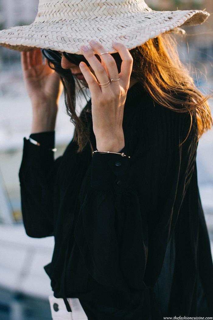 cappello paglia donna