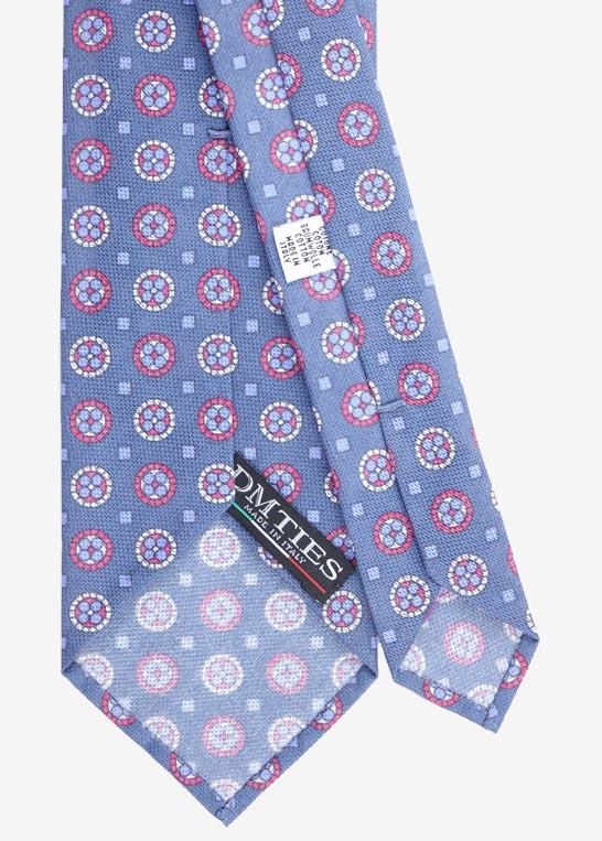 retro di una cravatta sfoderata