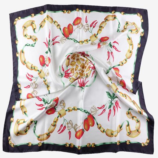 foulard donna seta