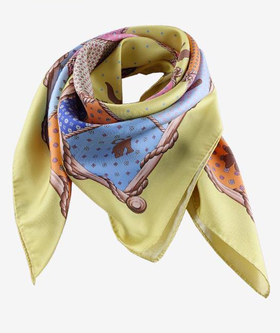 foulard seta fatto a mano