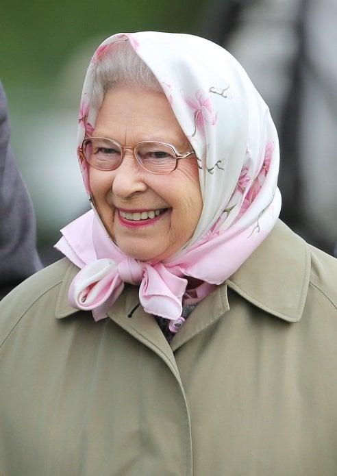 foulard Regina Elisabetta II