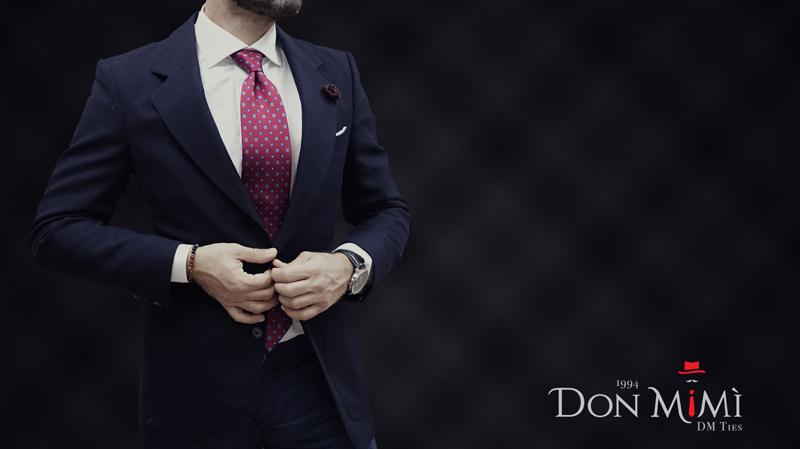 don mimì cravatte di lusso