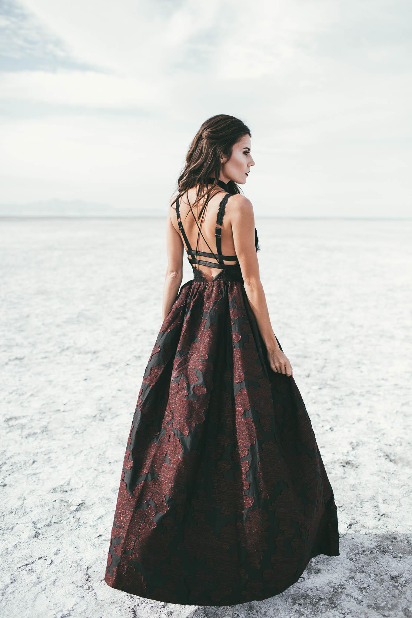 vampiro vestito donna
