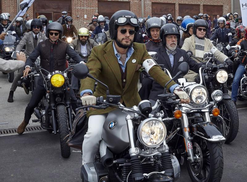 Bikers Distinguished gentleman's ride