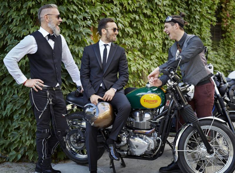 Distinguished gentleman's ride Milano