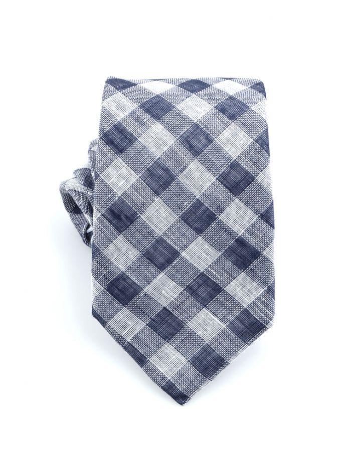 cravatta lino