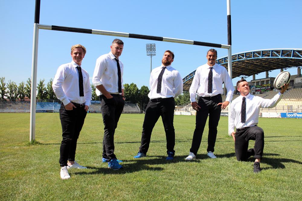 cravatte zebre rugby club