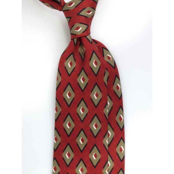 cravatta tre pieghe seta newcatwill