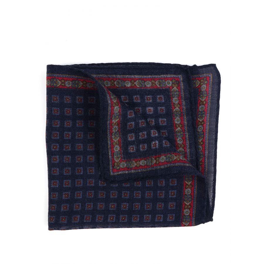 fazzoletto da taschino di lana