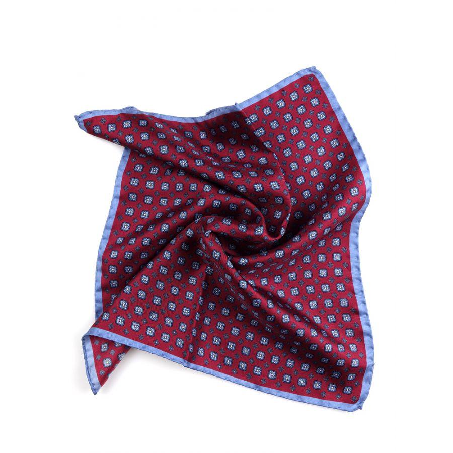 fazzoletto da taschino pura seta