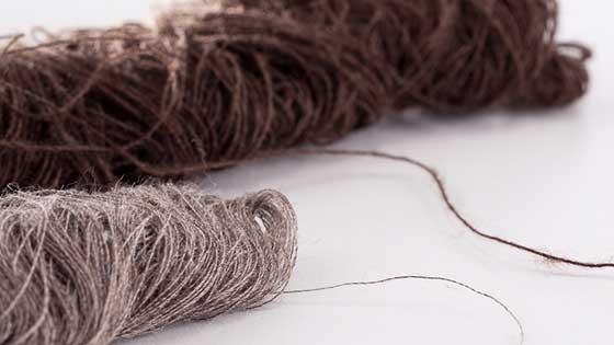 Fiocco di lana Yak