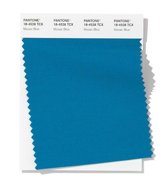 pantone mosaic blu