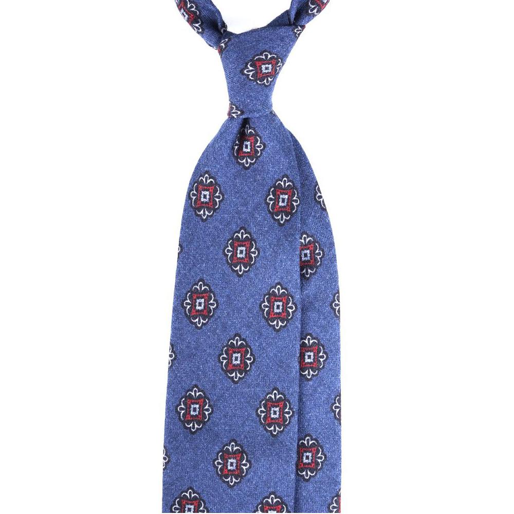 cravatta faded denim