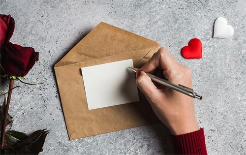 dedica scritta a mano online