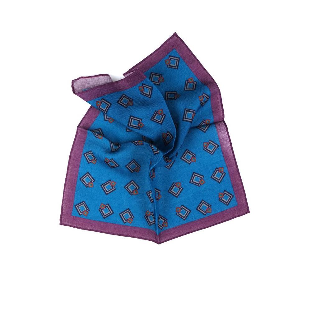 fazzoletto da taschino mosaic blue