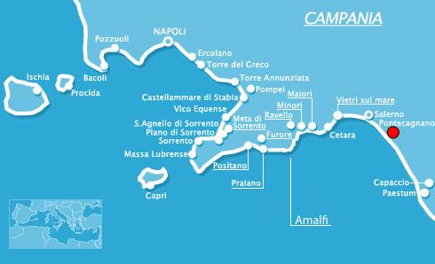 Zazà by DM Ties mappa posizione geografica