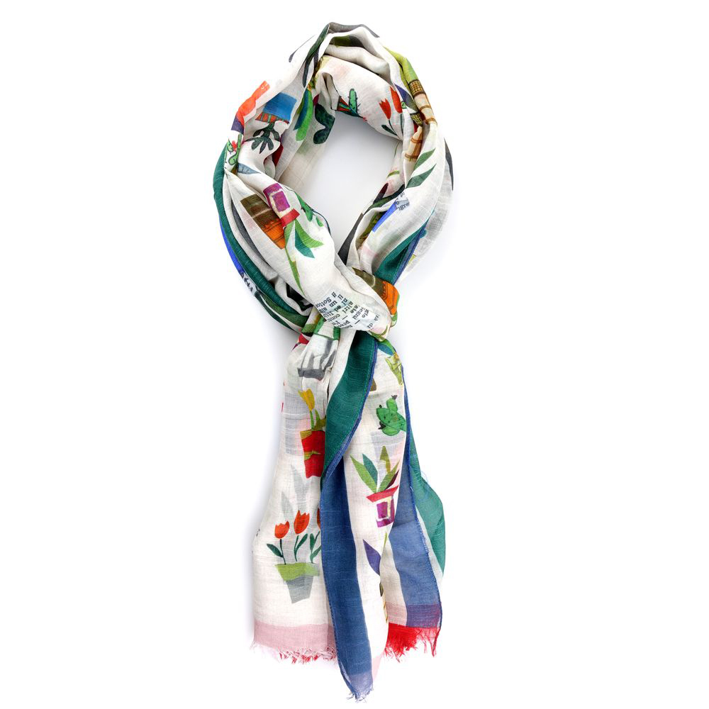 sciarpa foulard dm ties biscay green