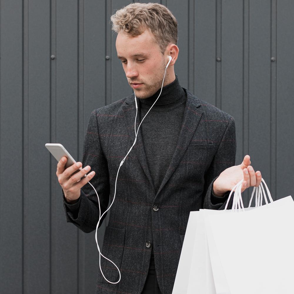 Shopping online uomo