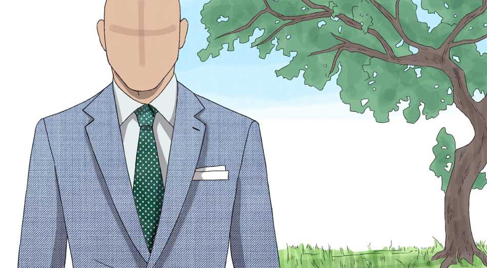 cravatta primaverile estiva
