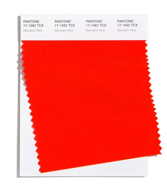 Mandarin Red Pantone 2020