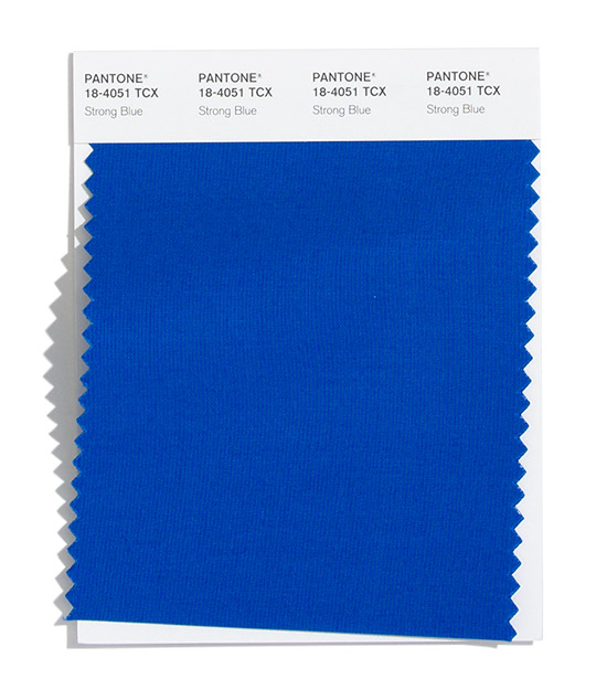 Strong Blue Pantone 2020