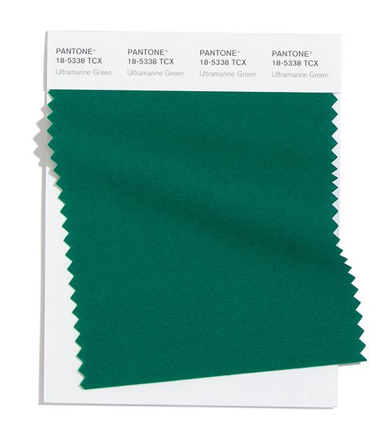 Ultramarine Green Pantone 2020