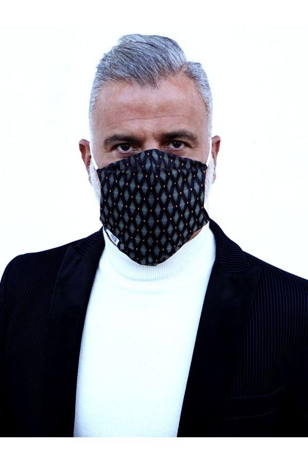 mascherina moda sartoriale